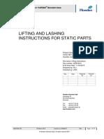 Lifting Lashing Instruction
