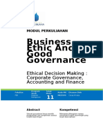 Modul Business Ethics and Good Governance [TM11]