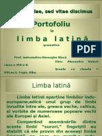 Limba Latina ppt
