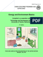 Basics of Energy and Environment