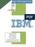 77789611 IBM Case Study Strategic Management Final Report