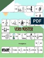 Verb Master Board Game