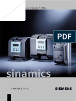 SINAMICS G110 Lista de Parametros 2004