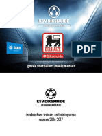 Infobrochure 2016 2017 KSV Diksmuide Jeugdacademie