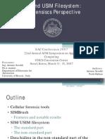 Savoldi-SIM and USIM File System - A Forensics Perspective