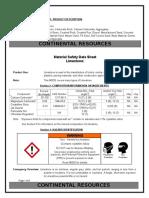 Limestone MSDS.docx