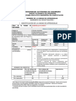 Programa Estudios Seminario de Investigación I