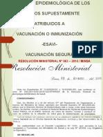 Vigilancia Epidemiologica de Esavis (1)