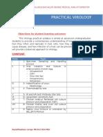 Syllabus Practium Virology UNUSA