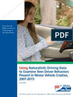 AAA Foundation report on teen driving