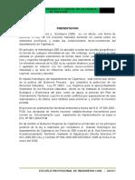 PRESENTACION DE HIDROLOGÍA