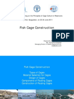 Fish Cage Construction