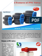 Purpose and Features of PVC Valves