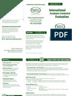 Wes ICAP Application details
