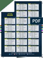 Calendrier de Ligue 1 saison 2016-2017
