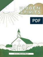 Hidden Spirits - H a Maxwell Whyte