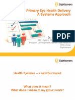 Monitoring Primary Eye Care Systems