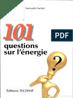 101 Questions Sur l'Energie