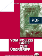 Vom Polizeigriff zum Uebergriff