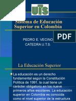 El Sistema de Educacion Superior en Colombia
