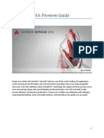 AutoCAD 2016 Preview Guide