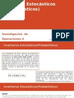 Inventarios Estocasticos(Probabilisticos)