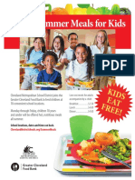 Summer Meals Program Flyer ENG