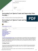 Male Fertility _ Natural Infertility Treatments for Men