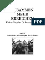 ZUSAMMEN MEHR ERREICHEN - Kleiner Ratgeber für Bezugsgruppen (2/2)