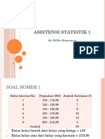 Asistensi statistik 1