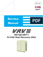 daikin vrv iii reyq p service manual leak hvac rh scribd com daikin vrv 3 service manual free download daikin vrv 3 installation manual