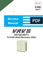 Daikin VRV III (REYQ-P) Service Manual