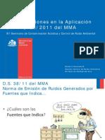 3 PPT Consideraciones Aplicación DS 38 Seminario Ruido MMA 2012