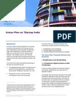 KPMG Flash News Action Plan on 'Startup India' 1