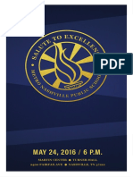 Salute to Excellence 2016 Program
