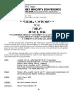Heroin Presser MediaAdvisory 5-31-2016