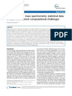 ALGORITMOS MALDI Imaging Mass Spectrometry_ Statistical Data Analysis and Current Computational Challenges