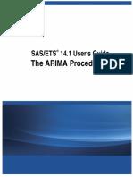 Proc Arima Procedure