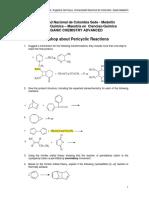 Workshop Pericyclic Reactions I-2016