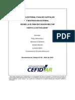 Manzanelli Et Al (2015) - Deuda Externa, Fuga de Capitales y Restricción Interna DT68