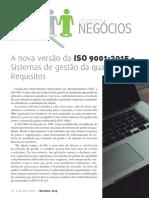 ⭐A nova versão da ISO 9001_2015 - Sistemas de gestão da qualidade - Requisitos