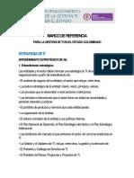 Marco de Referencia Para La Gestion de TI en El Estado Colombiano