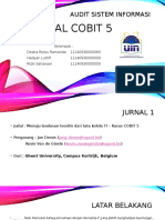 JURNAL COBIT 5