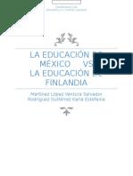 La Educación de México vs La Educación de Finlandia