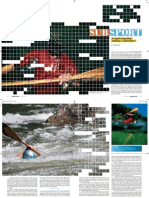 """Subsport"" <i>Canoe & Kayak</i>, June 2008"