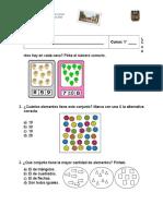 Evaluacion Matematica 1ºb - Mayo