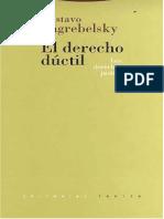 155026921 El Derecho Ductil Gustavo Zagrebelsky PDF Libre