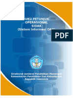 User Guide Sistem Informasi DAK - ToU.v.1.6
