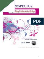 Prospectus 2016-17 Final Edition