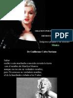 Oración por Marilyn Monroe - poema de Ernesto Cardenal